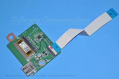 SD Card Reader Board w// Ribbon Cable TOSHIBA Satellite S55T-B5233 USB