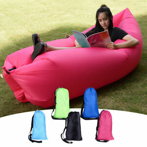 Image Is Loading Lazy Lounger Inflatable Air Bed Sofa Lay Sack