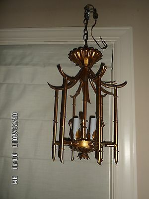 Bamboo collection on ebay faux bamboo pagoda chandelier mozeypictures Gallery