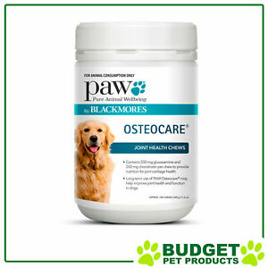 Paw By Blackmores Osteocare Joint Health Chews 500gm For Dogs