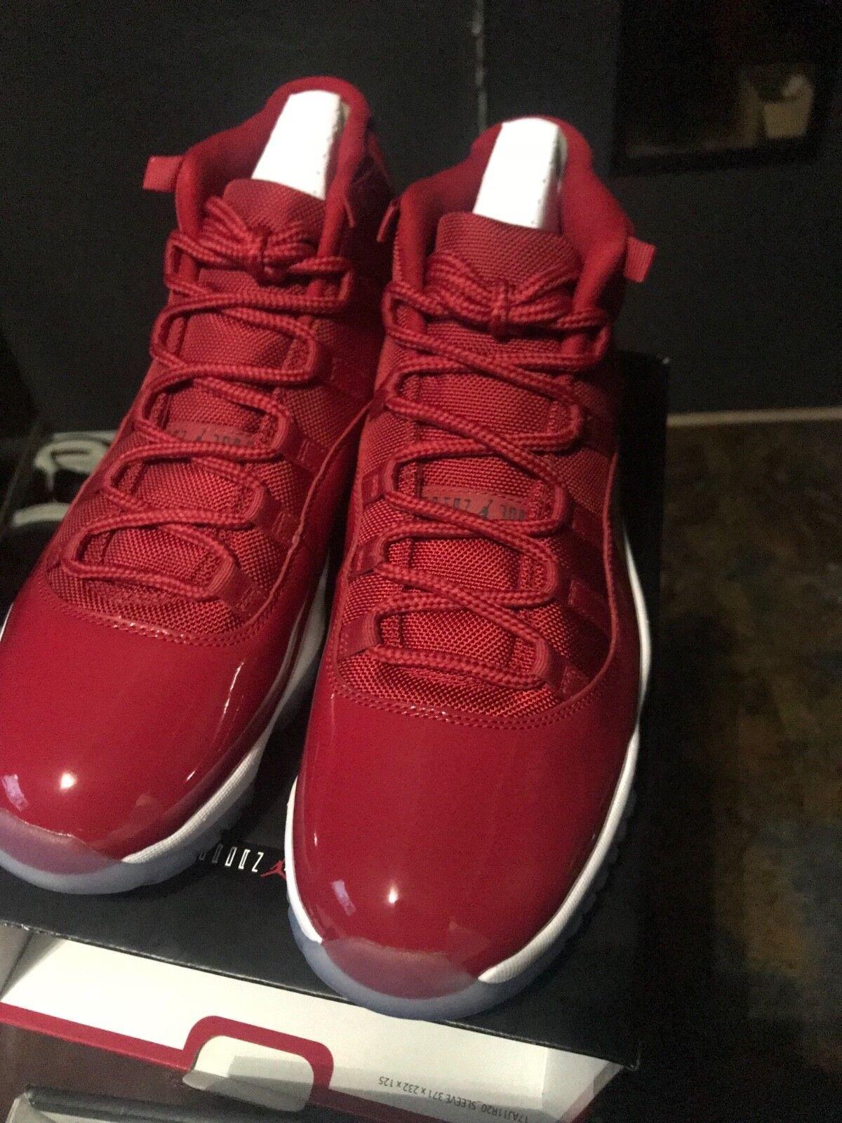Nike Air Jordan 11 Win Like 96 XI Retro Gym Red