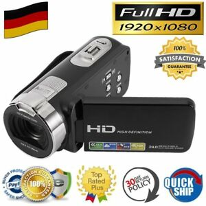 1080P FULL HD Kamera Camcorder Digital Videokamera LCD 16x Zoom DV CAMERA SO