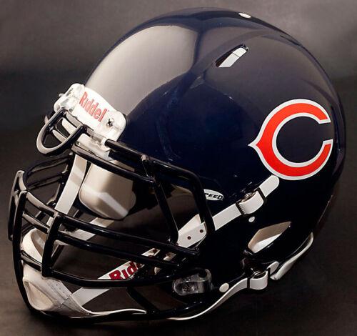 JULIUS PEPPERS CHICAGO BEARS Riddell Speed S3BDU Football Helmet FACEMASK
