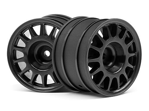 HPI RACING 107970 WR8 RALLY OFF-ROAD WHEEL BLACK (48X33MM/x2) NEW!