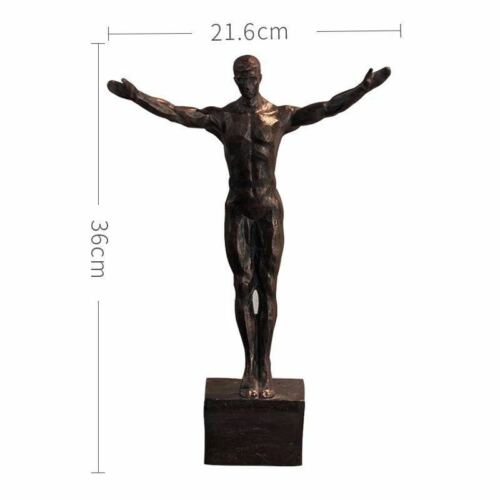 Retro Rock Climbing Characters Resin Sculptures Figures Statues Wall Decoration