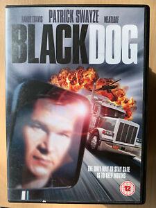 Nero-Cane-DVD-1998-Camionista-Camion-Driver-Action-Film-Film-W-Patrick-Swayze