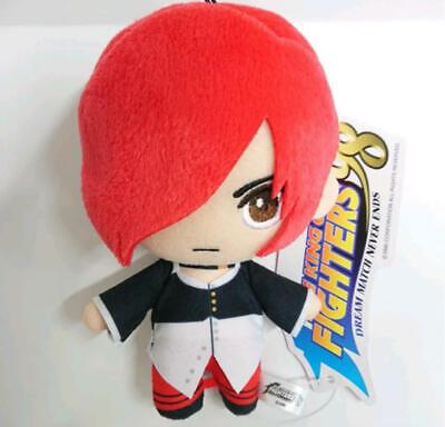 King of Fighters 98 Game Mascot Plush Charm Keychain Doll Iori Yagami AMU10396