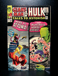 COMICS-Marvel-Tales-To-Astonish-64-1965-2nd-full-Leader-app-giantman