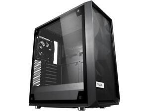 Fractal Design Meshify C Black ATX High-Airflow Compact Light Tint Tempered Glas