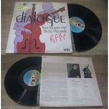 Slam Stewart And Bucky Pizzarelli - Dialogue LP Jazz Sonet 1979