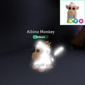 Adopt Me Roblox Albino Monkey Fly Ride And Neon Ebay