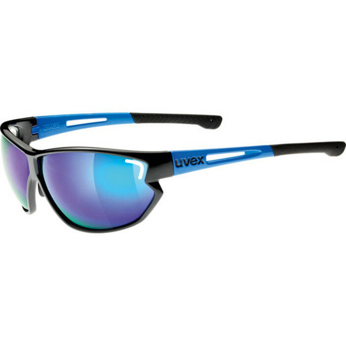 Uvex Fahrradbrille Sportbrille Sportbrille Sportbrille sportstyle 810 schwarz-Blau 3a4b22