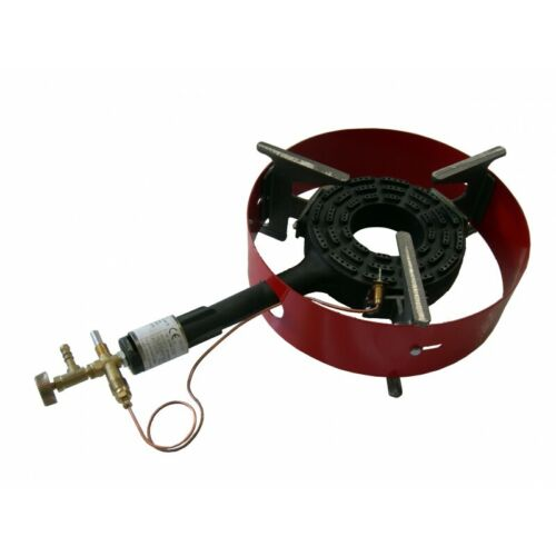 Catering Gas Boiling Ring Cast Iron  Burner FLAME FAILURE DEVICE 9kW G1ZO