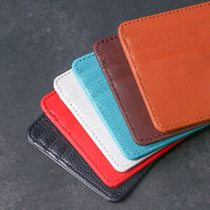 Leather-Travel-Coin-Bag-Card-Package-Wallet-Case-Money-Pocket-Id-Card-Holder