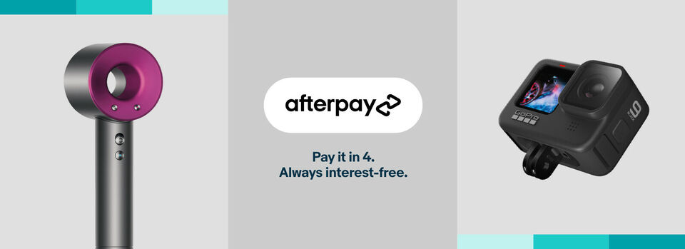 Use code PAY4AP - Grab an extra $10 off* with Afterpay