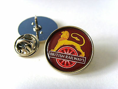 BR BRITISH RAILWAYS RAIL RAILWAY CREST LAPEL PIN BADGE TIE TACK CLIP GIFT