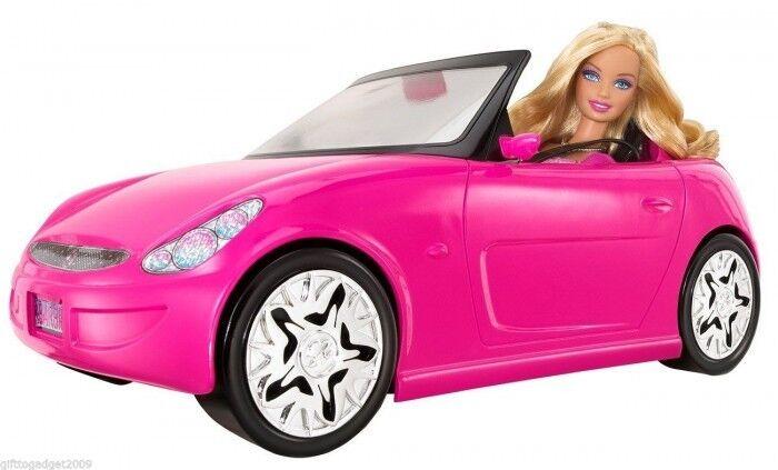Barbie GLAM AUTO AUTO CONverdeIBILE con  Barbie bambola V6744 ANNO 2010 NUOVO-SIGILLATO  100% nuovo di zecca con qualità originale