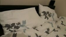 VERY BEAUTIFUL DOUBLE BED COVER 200X197CM & 2x pillow VGC !!! = FREE P&P !!!