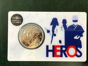 France-Commemorative-2020-Coin-Card-Heros-Find-Medical-Heros