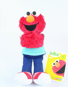 Sesame-Street-ELMO-9-034-plush-soft-toy-Hugs-Forever-Friends-Hasbro-Playskool-NEW