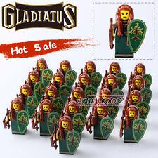 21PCS/Lot Witch Elves Gladiatus Minifigures Medieval Knights Building blocks