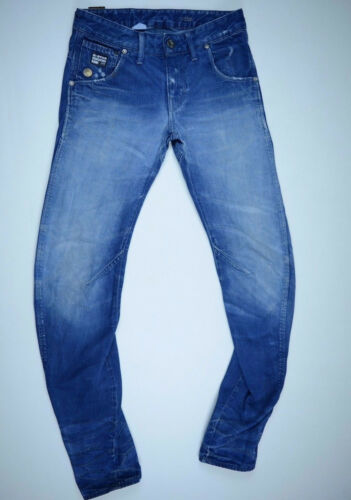 GStar Raw Jeans 'ARC 3D SLIM' MEDIUM AGED W26 L32 EUC RRP $289 Mens