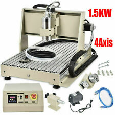 New Listingusb 4axis 6040z Cnc Router Engraver Set 3d Carving Mill Machine 15kw Vfdspindle