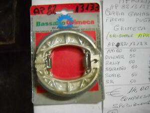 COPPIA GANASCE FRENO BASSANO GRIMECA ORIGINALI APRILIA 110x25 mm ...