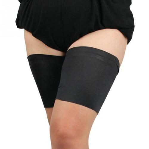 2 Paar Anti-Friction-Oberschenkelstreifen Elastischer Komfort-Sportbeinriemen