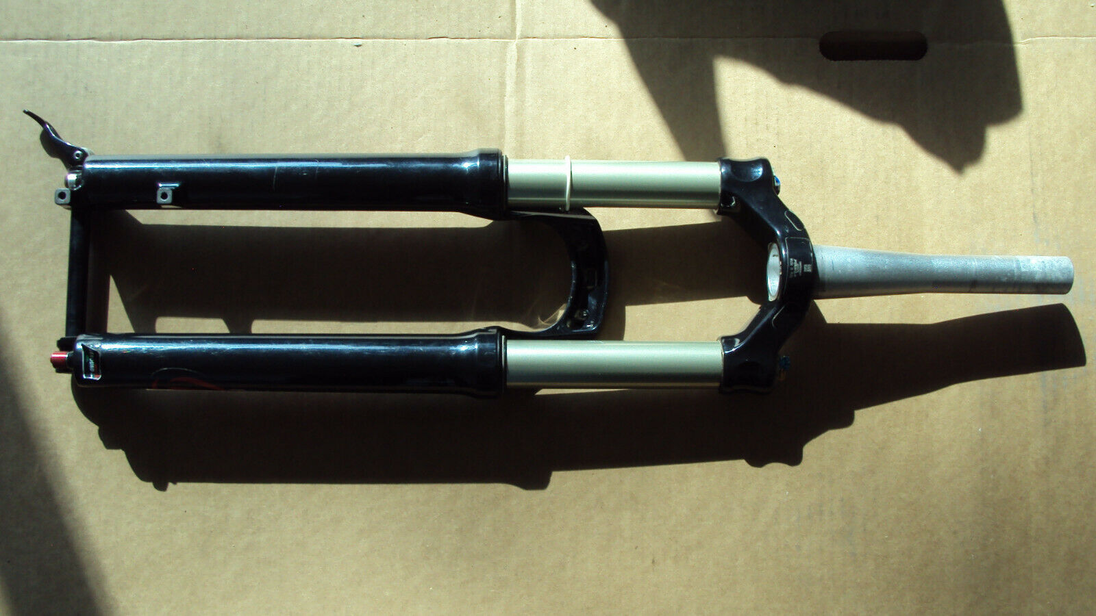 Formula 35 Fork for 27.5 wheel 150mm travel 7.75  taperot steer tube 15x100