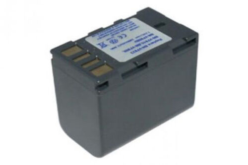 Recambio batería para JVC gy-hm100 gy-hm100u bn-vf808 bn-vf808u 7,20v 2.4a gris oscuro