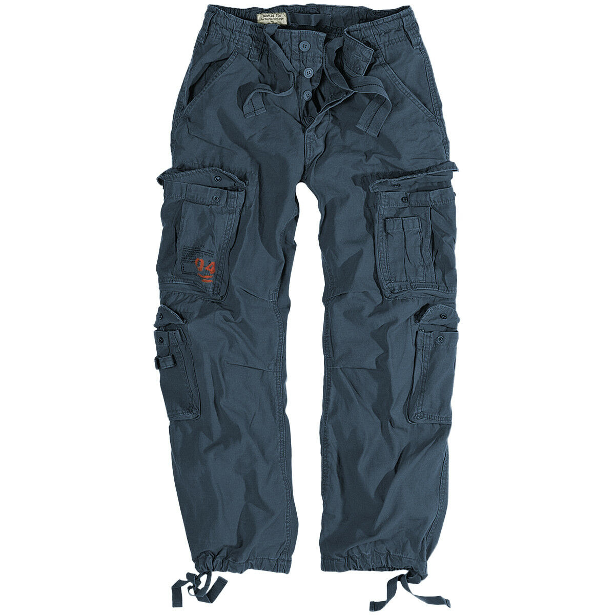 Surplus Airborne Vintage Trousers Mens Army Outdoor Cargo Airsoft Military Navy