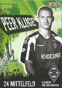 Peer Kluge - Borussia Mönchengladbach - Saison 2005/2006 -Autogrammkarte - Deutschland - Peer Kluge - Borussia Mönchengladbach - Saison 2005/2006 -Autogrammkarte - Deutschland