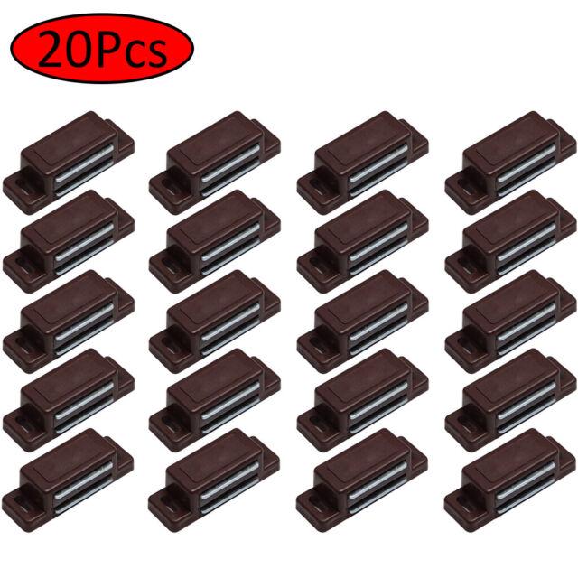 20 Pcs US Magnetic Door Catches Cupboard Wardrobe Kitchen ...