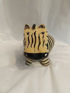 Hand-made-Soap-Stone-Zebra-figure-made-in-Kenya