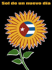 """11x14""""Decoration Poster.Interior room design art.Cuba.Sol de un nuevo dia.6585"""