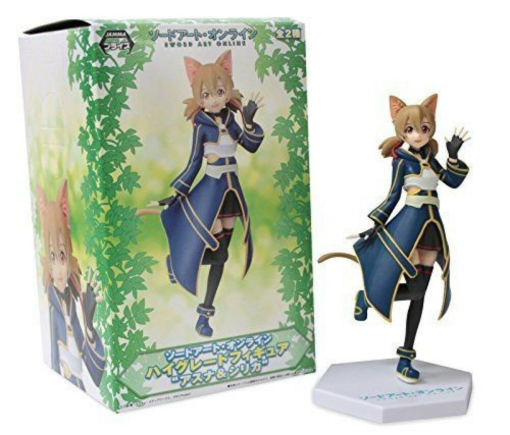 Sega Sword Art Online High Grade 6.5 Cait  Sith Silica Action Figure F S  abordable