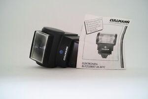 Cullmann-Blitz-Flash-34-AF-C-Motorzoom-fuer-Canon-EOS-600-620-650-1-RT-700-750etc