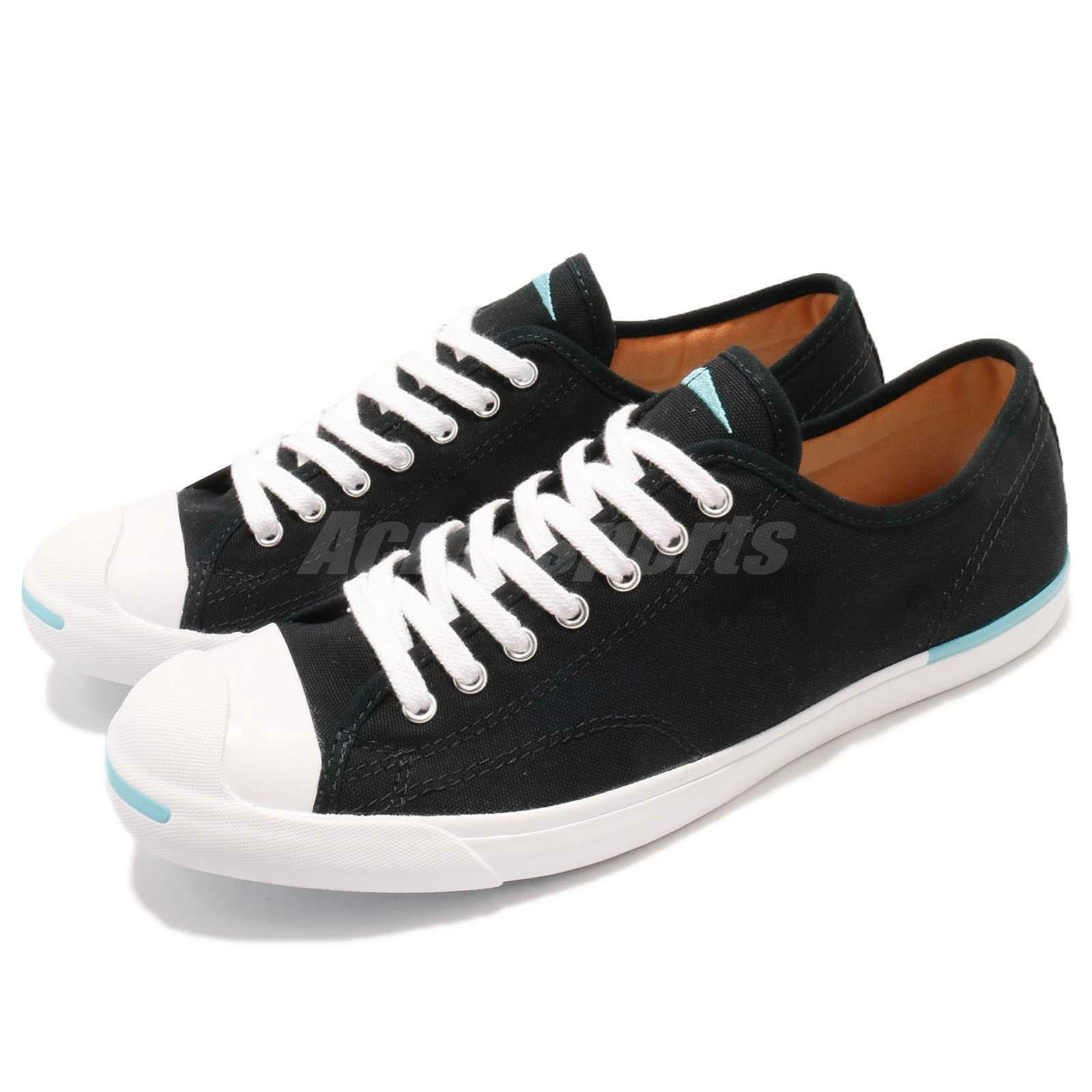 Converse Jack Purcell LP L/S Negro Blanco Lona Hombres Mujeres Mujeres Hombres Informal Zapatos  160815C 2248e2