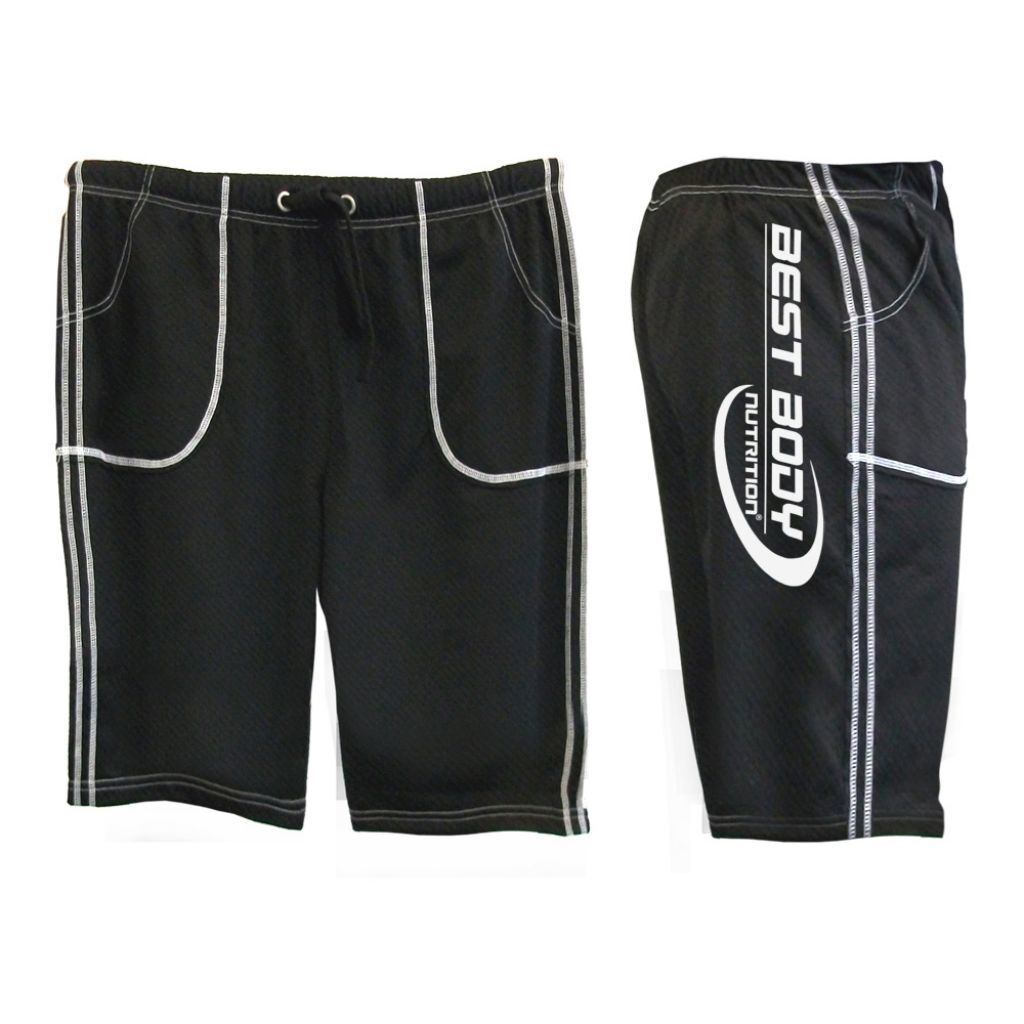 Gym Pants Men short (Best Body Nutrition) kurze Trainingshose fürs FitnessStudio