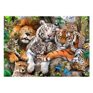 5D-DIY-Full-Drill-Diamond-Painting-Tiger-Lion-Cross-Stitch-Embroidery-Kits