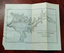 1900 Contour Map of USGS, Queen Creek Reservoir Site