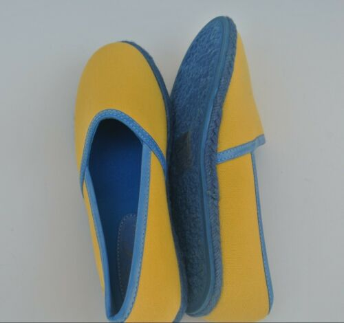 6-10 New Women/'s Yellow Classic Canvas Slip On Flats Casual Shoes Sizes
