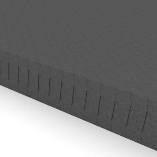 Akustik Noppenschaumstoff-Platten flammhemmendanthr.-2m²-50mm-Schalldämmung