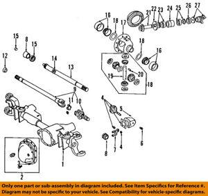dodge chrysler oem 96 01 ram 1500 front axle shift collar 4778548 ebay rh ebay com dodge ram front axle diagram 2004 dodge ram 2500 front axle diagram