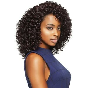 Jojo Outre Synthetic Quick Weave Complete Cap Wig Medium Curly Ebay