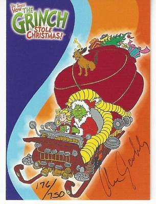 The Grinch Stole X-mas Trading Card SUPER SALE Artist Smith Autograph #3