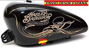 2x-Pegatinas-Vinilos-Decal-Calcomania-Sticker-Bike-Moto-Harley-Davidson-Deposito