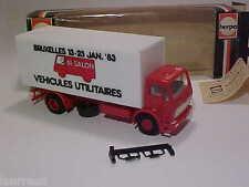 Mercedes-Benz 2635K 1981 Promotional Salon 1983 Truck Herpa 1/87 H0 Min in Box
