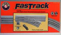Lionel Fastrack 048 Remote/command Switch Right Hand O Gauge Train 6-81948
